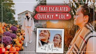 Eskalation auf dem Kürbishof 🎃 – Der ultimative Herbst Tag! 😍🍁 (Vlog) #FallinLove