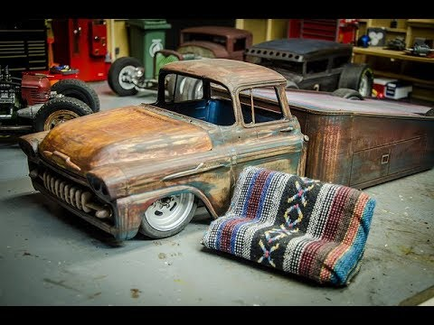 rc ratrod ramp truck build part 7 fabbing a bench seat. Black Bedroom Furniture Sets. Home Design Ideas
