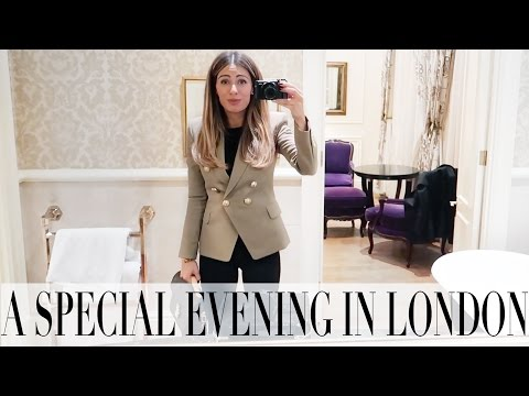 WHAT I WORE FOR A FESTIVE EVENING IN LONDON | Lydia Elise Millen | VLOGMAS DAY 17