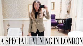 what i wore for a festive evening in london   lydia elise millen   vlogmas day 17