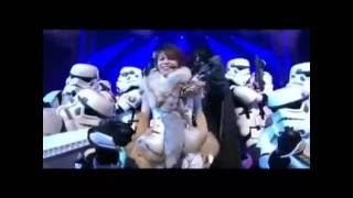"T.M.Revolution gives a Star Wars themed performance of ""White Breat..."