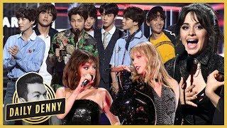 BBMAs 2018: Camilla Cabello & Normani Kordei Reunite, BTS Meets Taylor Swift & More! | #DailyDenny