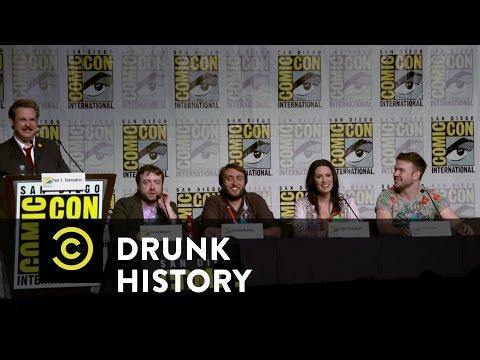 Drunk History - Exclusive - Drunk History Comic-Con Q&A