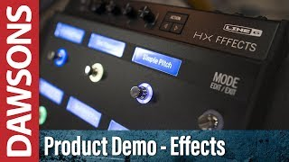 Line 6 Helix HX Effects Review