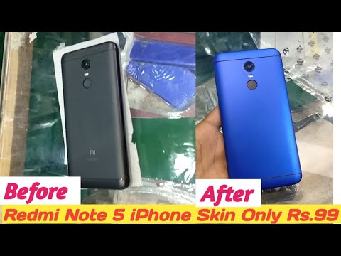 Redmi Note 5 Converted Into iPhone In Just Rs.99 | Tech 4 You |