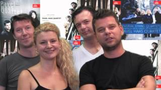 Pavel Haas Quartet is greeting from SUPRAPHON 2012