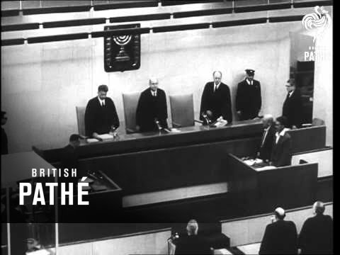 Eichmann Found Guilty - Jerusalem     (1961)