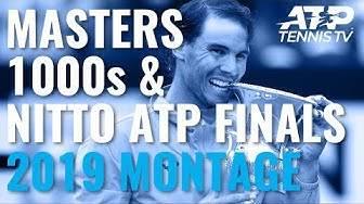 The Story of the 2019 ATP Masters 1000s and Nitto ATP Finals!