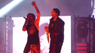"""Rob Zombie and Marilyn Manson - """"Helter Skelter"""" Live, Bristow Va. 7/31/18 The Twins Of Evil Tour!!"""