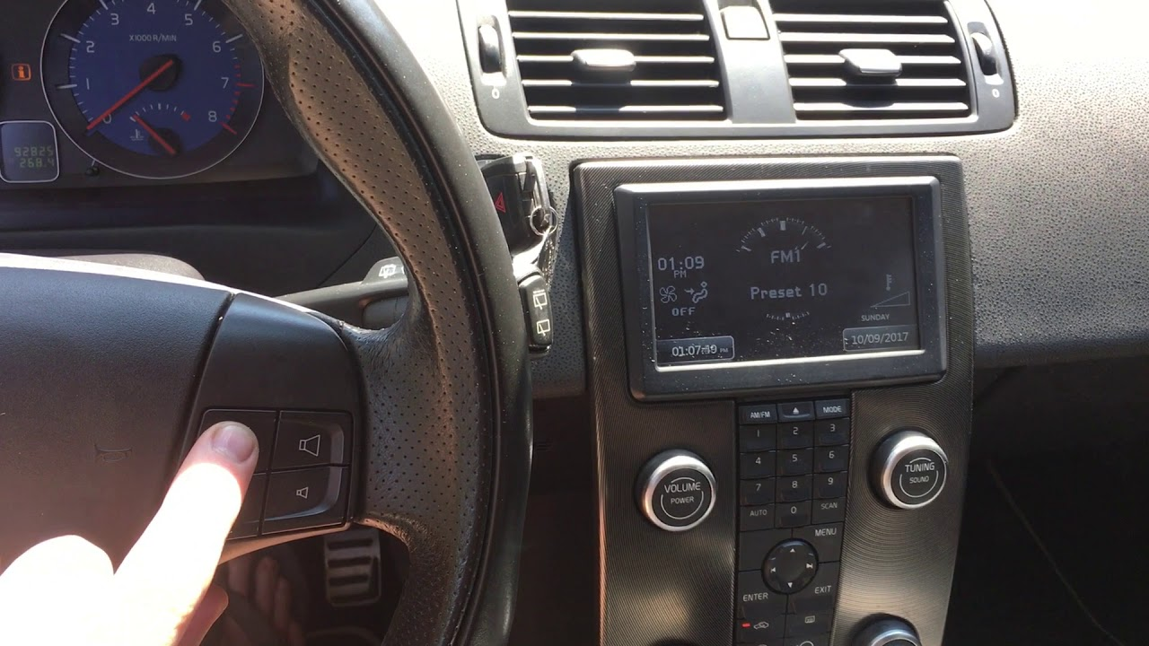 Volvo C30 Bluepower 990 Head Unit YouTube