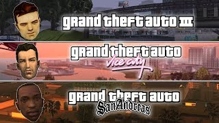 GTA 3D Trilogy Speedrun - GTA III, Vice City, & San Andreas - 2018