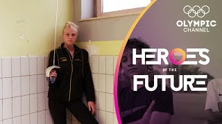This fencing sensation is following her grandfather's path to the Olympics |Heroes of the Future