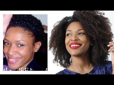 18 CONSEILS • Stimuler la Pousse des cheveux naturel & les avoir Longs // Beautiful Naturelle