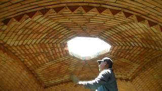 Construcción de bóveda catalana, transmisión en vivo parte 7