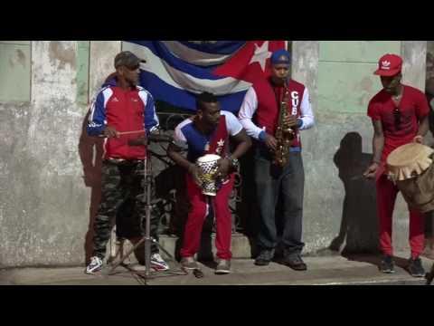 Steve Coleman & Rumba Timba in Matanzas, Cuba (street session)