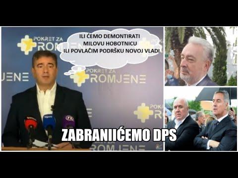 Vanredna konferencija: Medojović