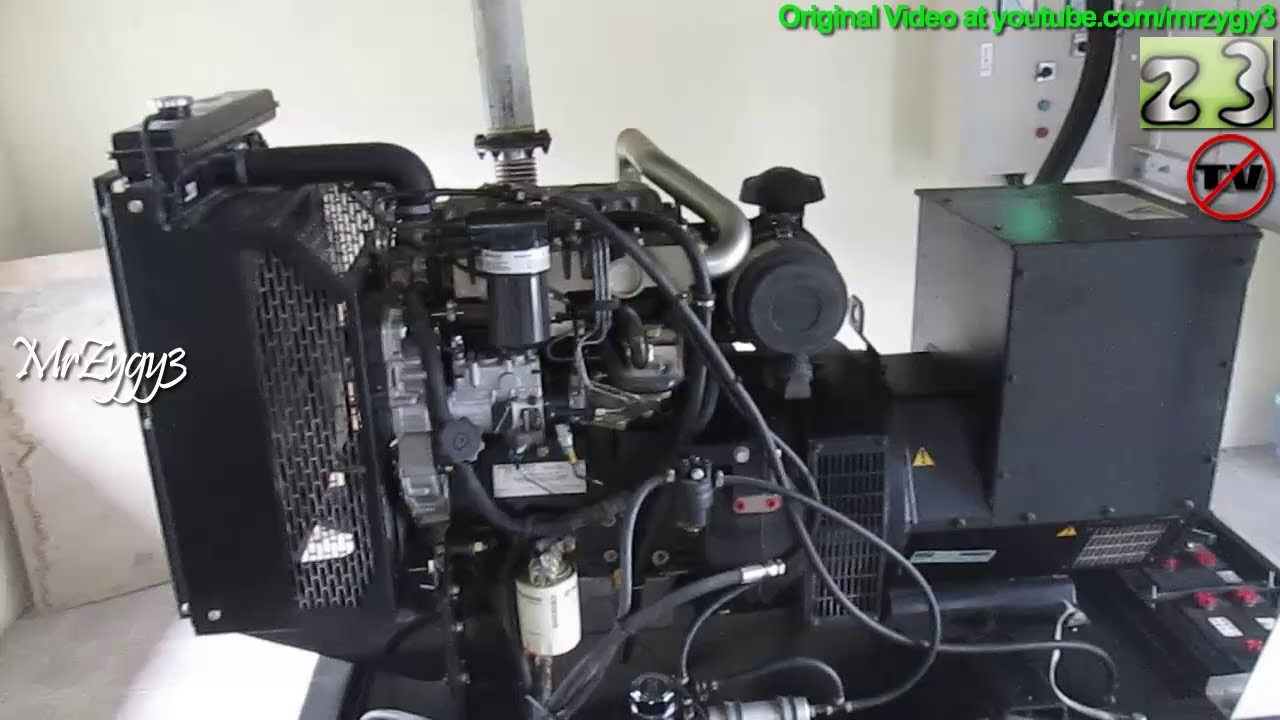 Cummins Perkins Engine Uk Diesel Generator Stamford Alternator Youtube Newage Wiring Diagram