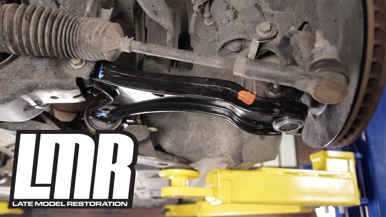 Mustang Front Lower Control Arm Install  0509 FRPP GT500
