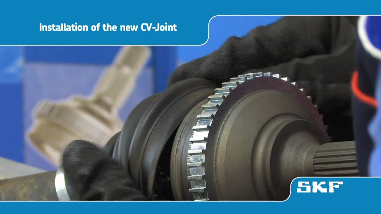 Skf How To Replace An Skf Cv Joint Vkja 5339 On The