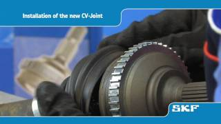 SKF - How to replace an SKF CV-Joint (VKJA 5339) on the Peugeot 206 1.4i - uk playlist