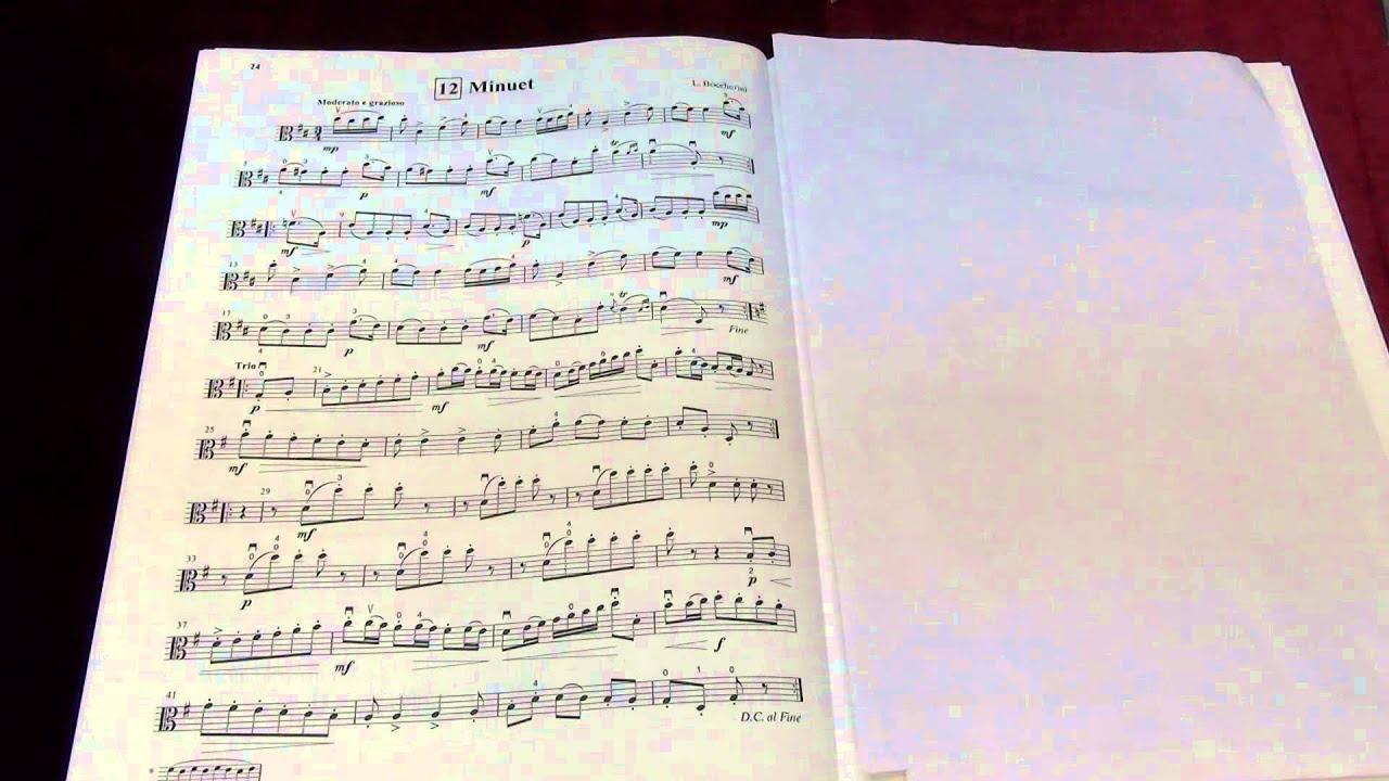 Minuet No  Cello Suzuki Book