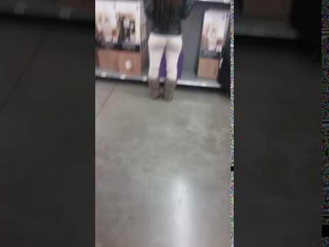Walmart candid teen asses