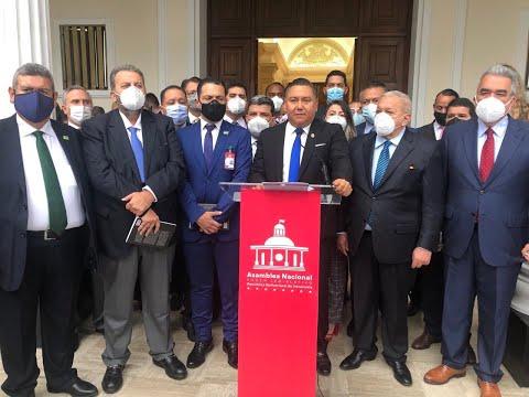 Partidos de la oposición se pronuncian tras la designación del nuevo CNE.