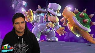 I beat Mario Odyssey AS BOWSER! (Game Crashed)