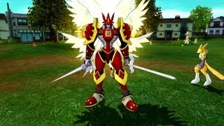 Digimon Masters Online - Guilmon - all evolutions and attacks