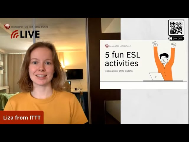 5 Fun ESL Activities for Interactive Online Lessons
