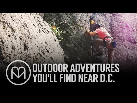 Outdoor Adventures You'll Find Near D.C.