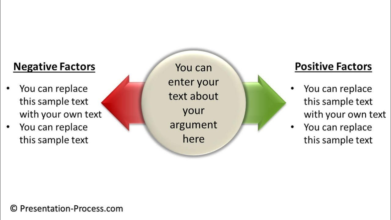 How to Create Pros and Cons Diagram in PowerPoint : Diagram Series  YouTube