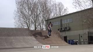 Rowan Galliano   Bri Flip To Bar Spin Air !