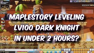 MapleStory SEA D/E/I - Level 100 Dark Knight in 1.5 hours!