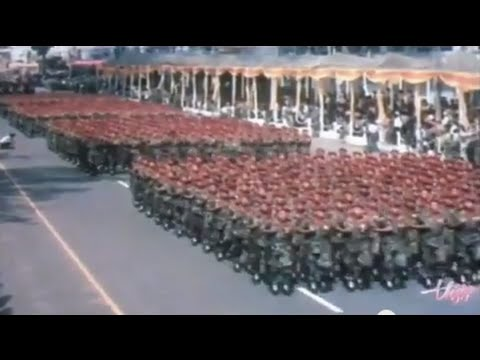 South Vietnam Parade 1973 HELL MARCH HD