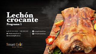 Lechón Crocante - Primer programa de cocina en la caja china Smart Grill Colombia
