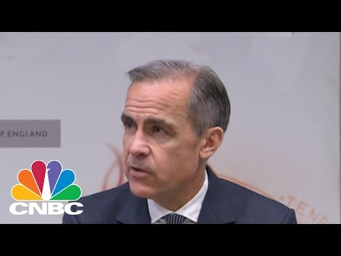 Bank Of England's Mark Carney: We Have Conditions On Various Brexit Scenarios | CNBC
