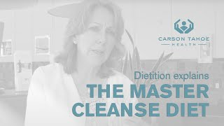 Cleanse Diet - Is a Master Cleanse Diet a Good Way to Lose Weight - Carson Tahoe