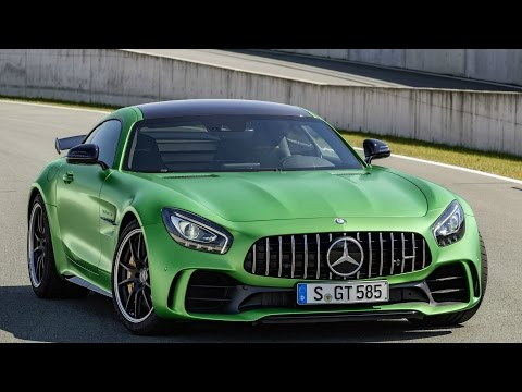 2017 Mercedes AMG GT R - Drive, Interior and Exterior
