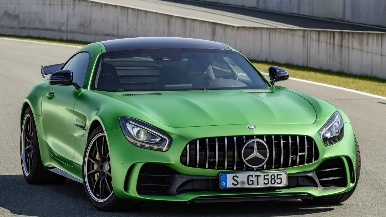 2017 Mercedes Amg Gt R Drive Interior And Exterior