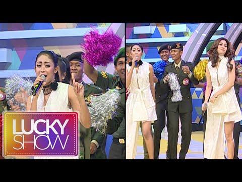 """Duo Anggrek """"Cikini Gondangdia"""" Bikin Semangat Peserta [Lucky Show] [5 September 2016]"""