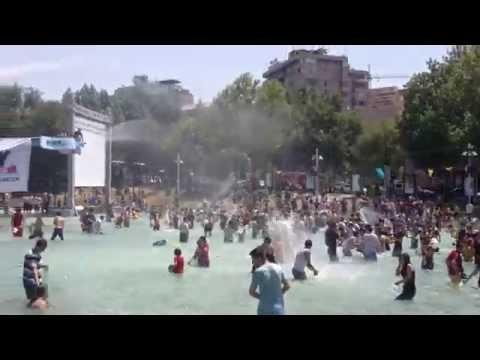 Вардавар в Ереване 2014 ГЕВОРИК Vardavr