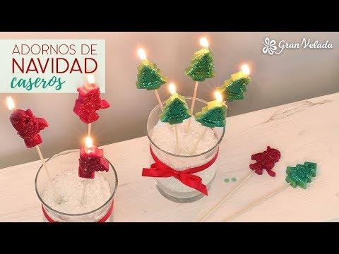 Adornos de navidad con velas youtube - Adornos navidenos con velas ...