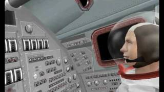Orbiter 2010 - Cockpit View of Saturn V Launch
