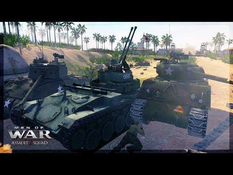 Coral Island [Tarawa] - Attack - |US vs JP| - Battlefield Mod [FOW] - MOWAS 2
