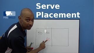 Serve Placement | Table Tennis | PingSkills