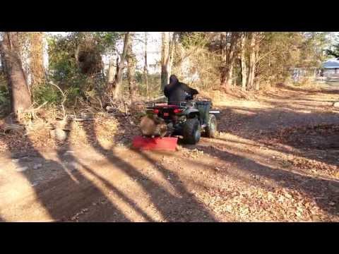 Home Made ATV Grader Blade