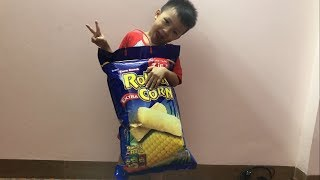 Learn Colors with Corn Snacks | The Surprise  For Kids
