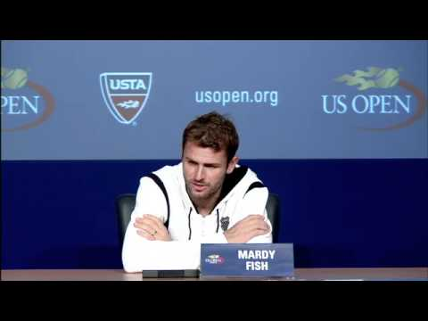 2011 US Open Press Conferences: Mardy Fish (Fourth Round)