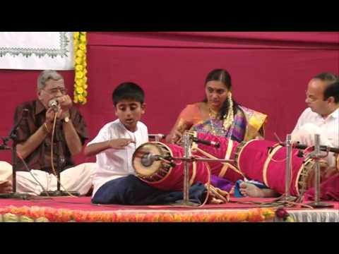 Music Festival 2015 @ Kairali Kala Mandal, Vashi - Day 2 Taniavartanam by batch 1